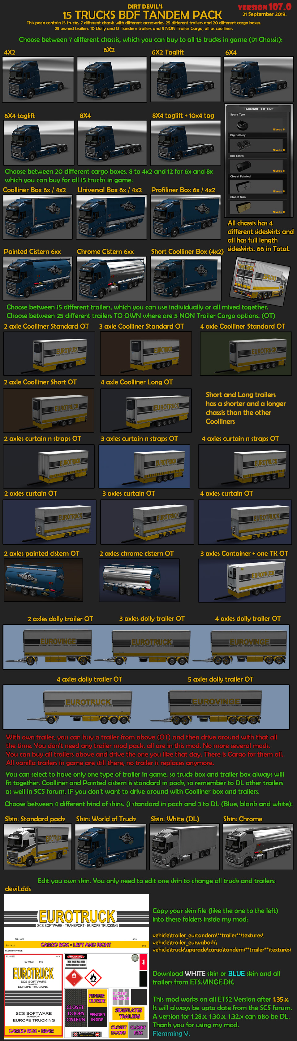 BDF Tandem Truck Pack v106 0 (29-June-19) - SCS Software